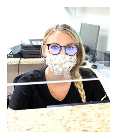 front desk at surfside urgent care